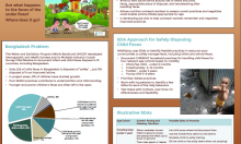 This poster provides an overview of the WASHplus approach to infant feces disposal along with examples of small doable actions for several age groups.